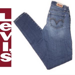 Levi's 524 Skinny Low Rise Jeans Size 25 x 32